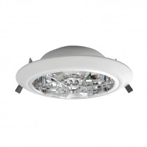 Downlight modelo FOX 226, para 2 lámparas PL-C/26W