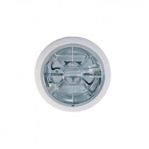 Downlight modelo ENERGY, para dos lámparas PL-C/18W