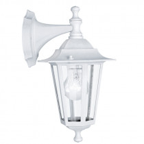 Farol colonial d/pared sur  blanco 1XE27 LATERNA 5
