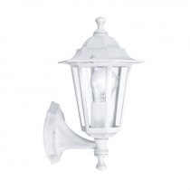 Farol colonial norte LATERNA 5 con brazo, blanco