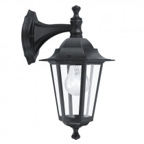 Farol colonial d/pared sur negro 1XE27 LATERNA 4