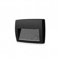 Aplique LED pared negro IP55 R7S 3000K LORENZA 190