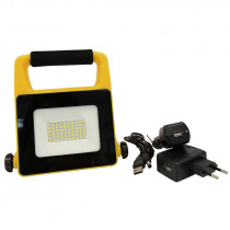 Proyector LED RECARGABLE 10W, IP65, 6500K