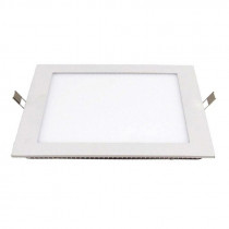 Downlight LED cuadrado, 24W, cálido 300x300mm