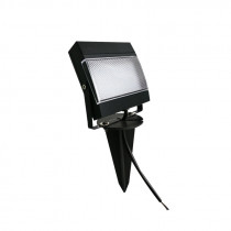 Kit de 2 luminarias LED con panel solar, para aplicar a techo o pared
