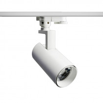 Spot LED integrado blanco móvil p/riel 15W 3000K