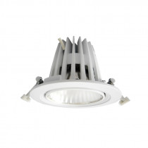 Downlight LED redondo con equipo/31W/3000K