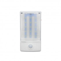 Luminaria emergencia led c/ sensor movimiento