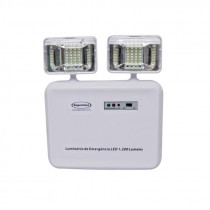 Luminaria LED con faroles ajustables, 1200Lm
