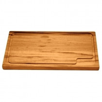 Tabla rectangular modelo CHURRASCO, 470x300x22mm