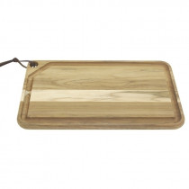 Tabla rectangular modelo CHURRASCO, 490x280x22mm