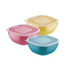 "Tupper 2 lt varios colores con tapa ""MIX COLOR"""