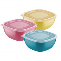"Tupper 4 lts. varios colores con tapa ""MIX COLOR"""